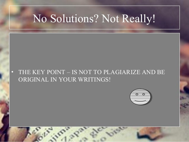 Guarantee not plagiarized essays