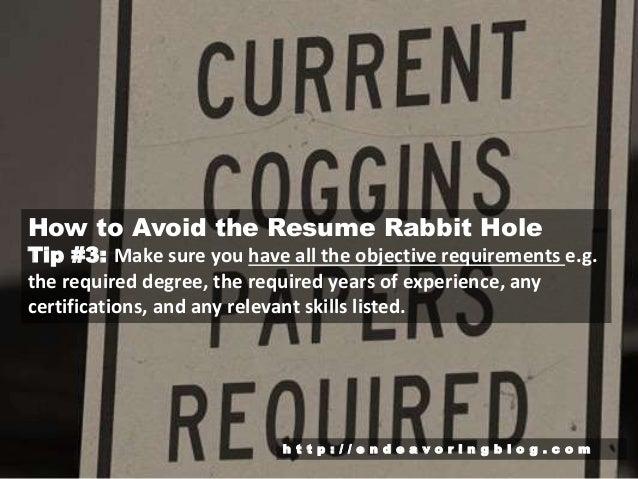 C O M; 4. How To Avoid The Resume Rabbit ...  Resume Rabbit Cost