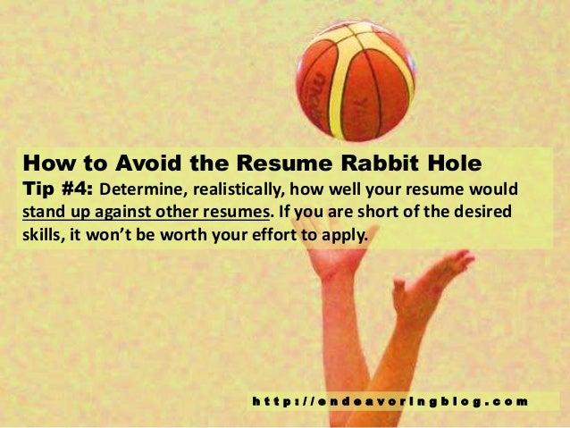 C O M; 5. How To Avoid The Resume Rabbit ...  Resume Rabbit Cost