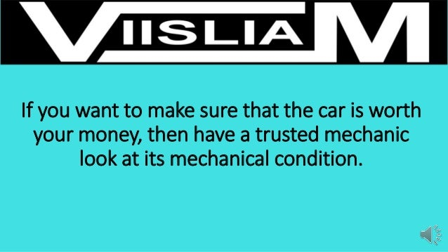 Have A Mechanic Look Over A Used Car