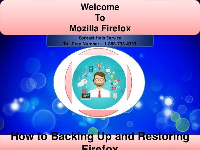 Mozilla Firefox customer 1-888-738-4333 support number