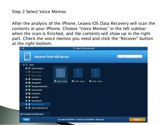 How to Backup Easter Voice Memos from iPhone to Computer