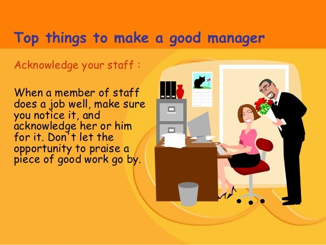 how to find a good manager