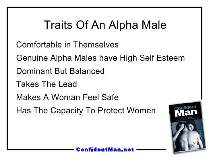 what is an alpha man