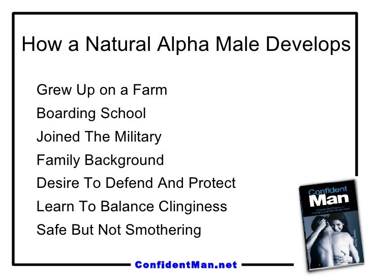 Alpha male confidence