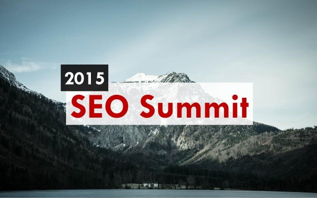 SEO Summit 2015