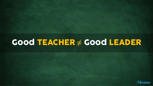 how to become a good leader in school