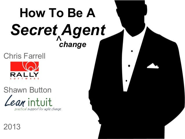 How To Be A  Secret Agent ^ change  Chris Farrell  Shawn Button  2013
