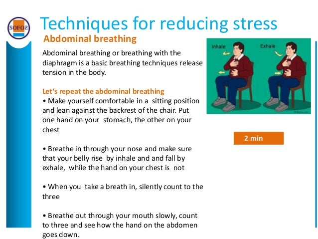 reduce stress at workplace