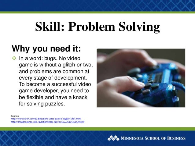 solutions to solving the millennium bug problem Creativity will also let you find solutions to previous problems in many ways, being in the gaming industry, especially when you come at the entry-level, is all about problem solving testers will identify bugs that need to be fixed, and in many cases, creativity comes to the rescue.