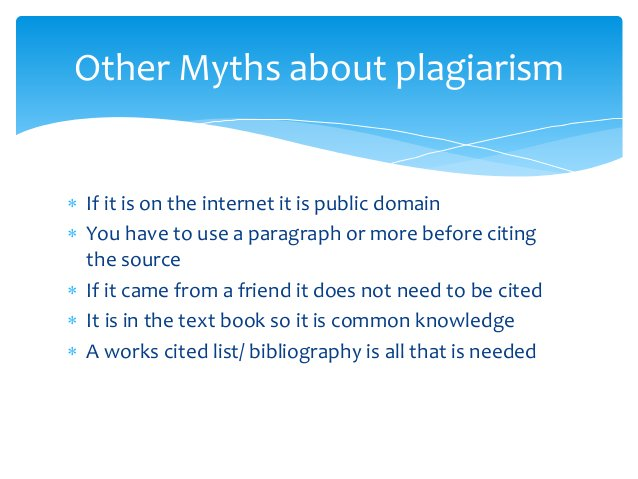  If it is on the internet it is public domain  You have to use a paragraph or more before citing the source  If it came...