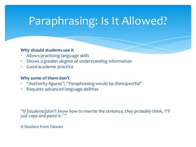 Why should students use it • Allows practicing language skills • Shows a greater degree of understanding information • Goo...