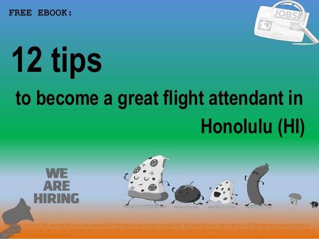 How To Become A Flight Attendant In Honolulu Hi