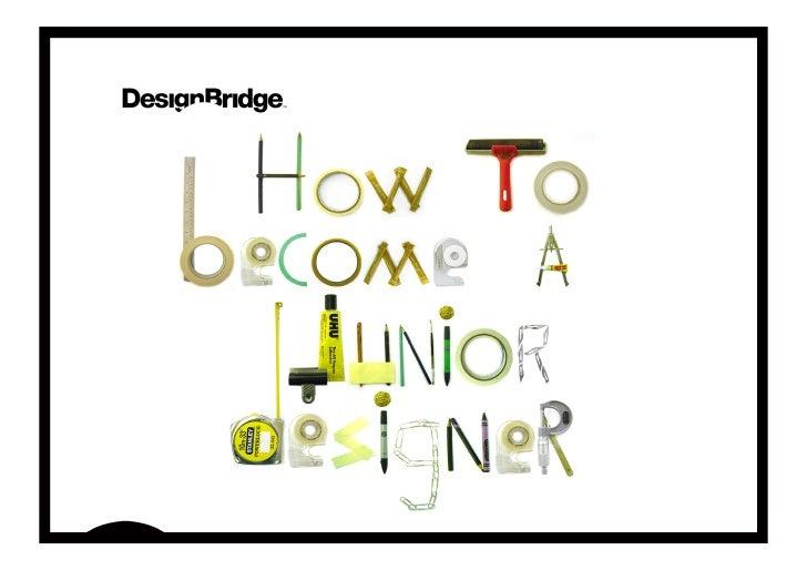 how to become a junior designer
