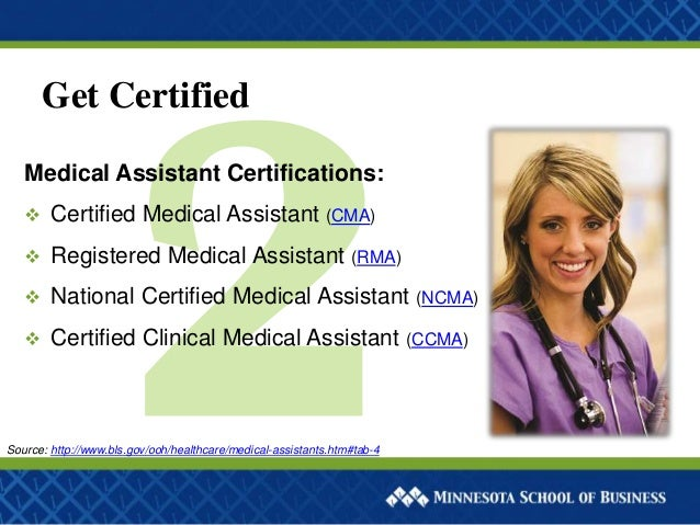 Steps To Become A Medical Assistant