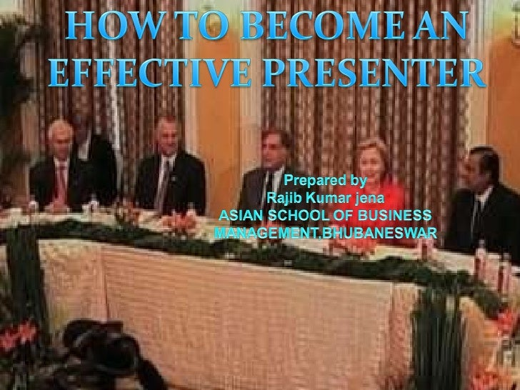 how to become a good presenter What fascinates me is that a lot of people are great in conversations, but they just can't present someone can deliver a terrible presentation, but if you talk to them afterwards, they turn out to be the most engaging person to talk to i've never seen the two as different activities.