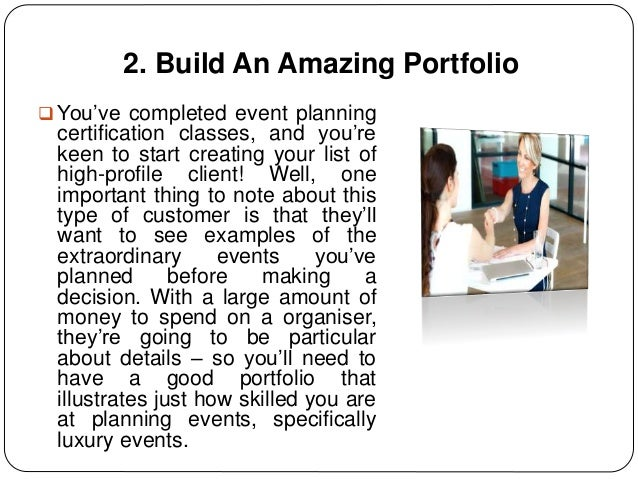 How To Become An Event Planner For High Profile Clients