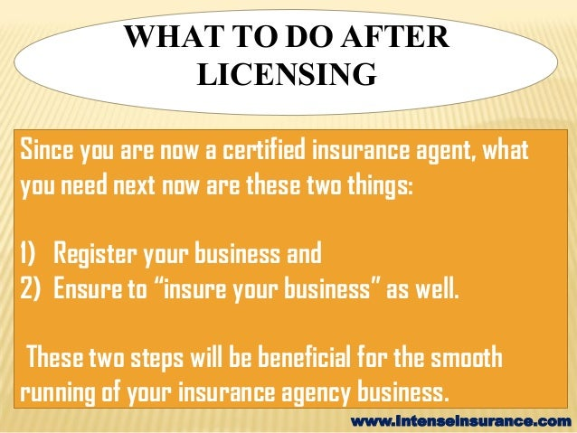 well insurance agent certification - photo #27