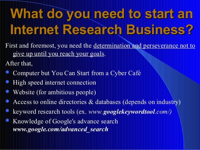 What Do You Need To Start An Internet Cafe Business