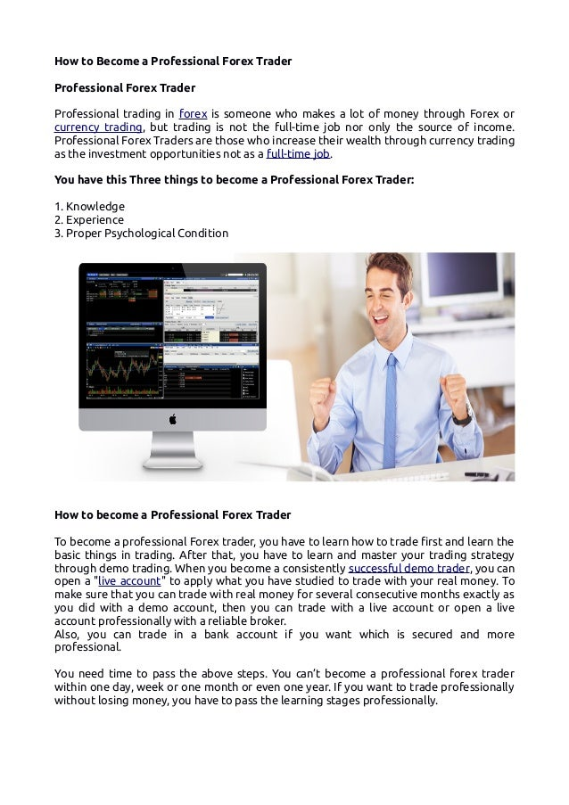Get Started Become a Certified Forex Trader | Market Traders Institute