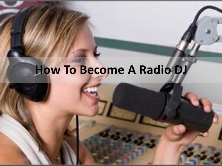 How To Become A Radio DJ
