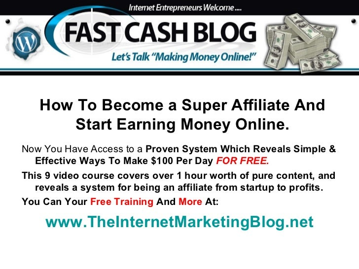<ul><li>Now You Have Access to a  Proven System Which Reveals Simple & Effective Ways To Make $100 Per Day   FOR FREE. </l...