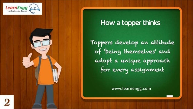 How to become a Topper in Engineering: 4 Winning Habits Slide 3