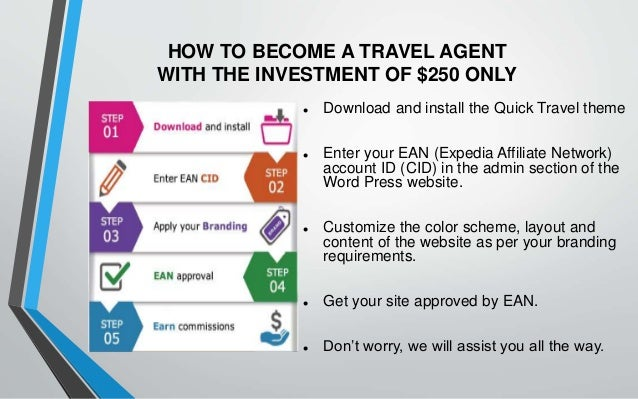 Requirements To Become A Travel Agent In Us
