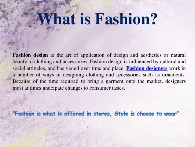 How To Become Famous Fashion Designer