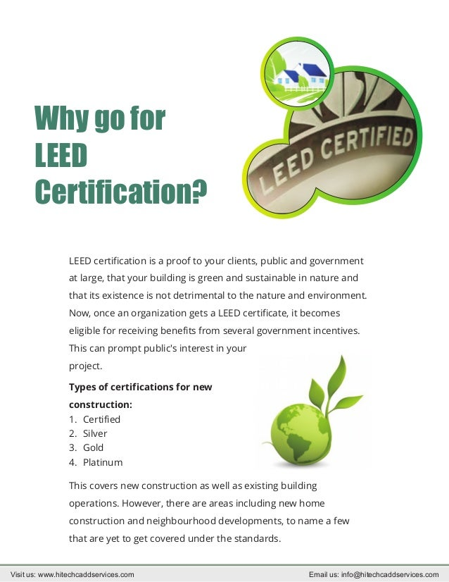How to be leed certified for Benefits of leed certified buildings