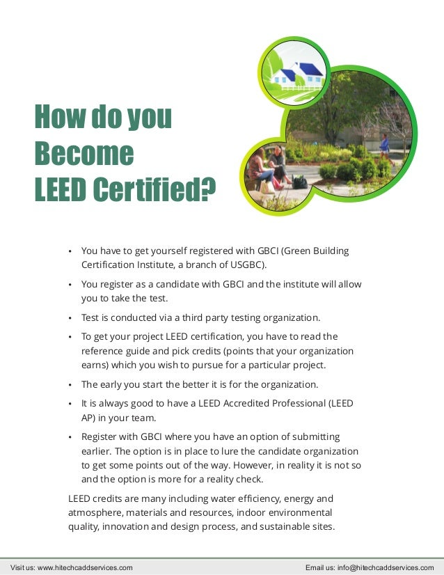 How to become leed certified - Get Brief Information