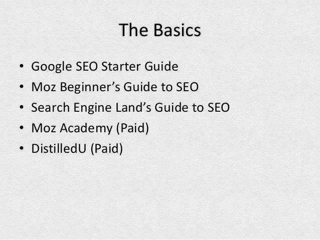 Basics Of Seo Moz