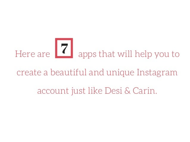 1. INSTASIZE: Resize your photos to fit Instagram standards