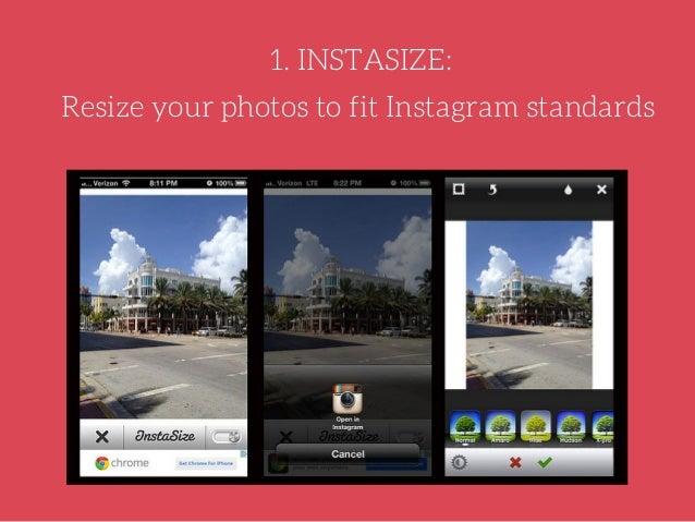InstaSize, Upload Your Photos Complete Instagram
