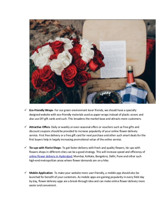 How to become the best online flower delivery shop in business