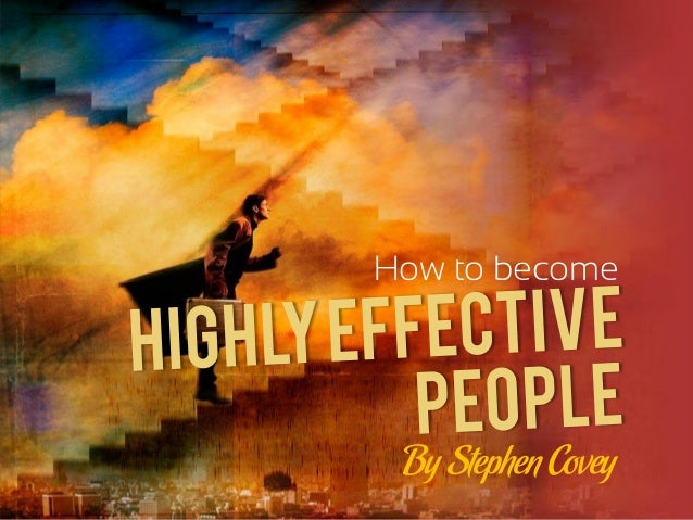 How to become By Stephen Covey