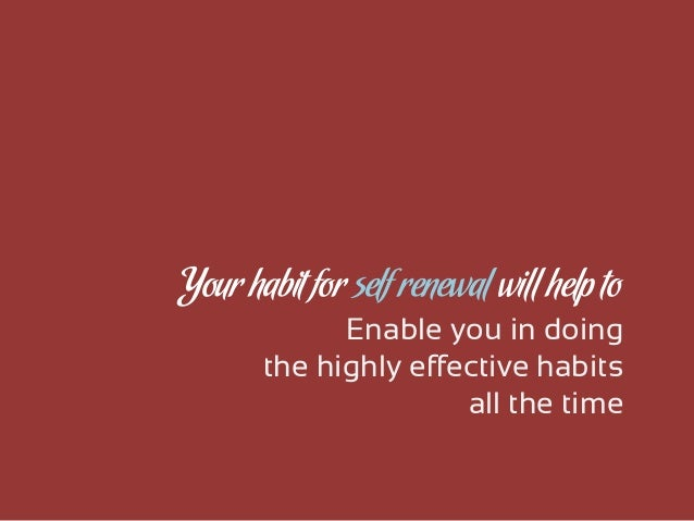 an analysis of the seven habits of highly effective people by stephen covey In his book the 7 habits of highly effective people (1989), stephen covey describes how you can be happier and more effective in life this book is the result of a long-term study into the principles of success.