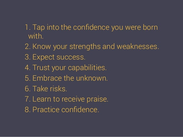How to be more confident 13 1 ccuart Images