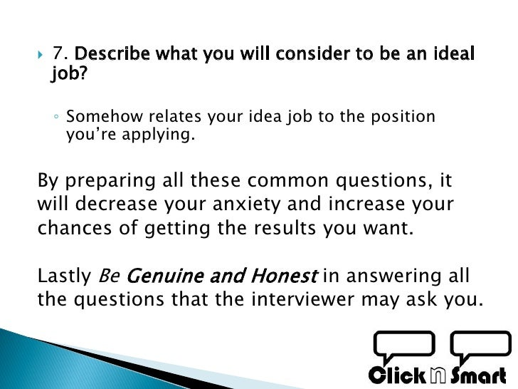 how to best prepare for a job interview