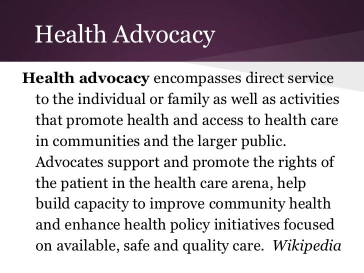 Know It 2 Own It Advocating For Your >> How To Be Your Own Health Advocate