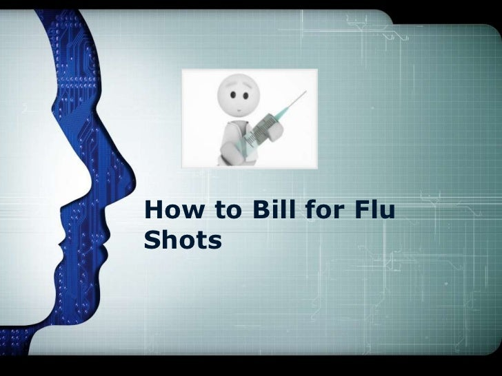 How to Bill for FluShots