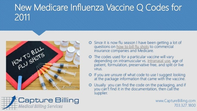 How to Bill for Flu Shots