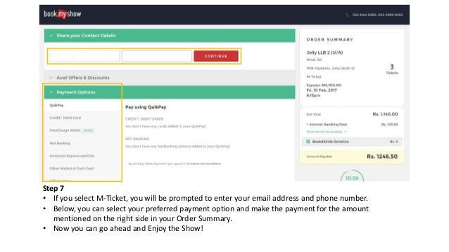 How To Book Movie Tickets Online on BookMyShow