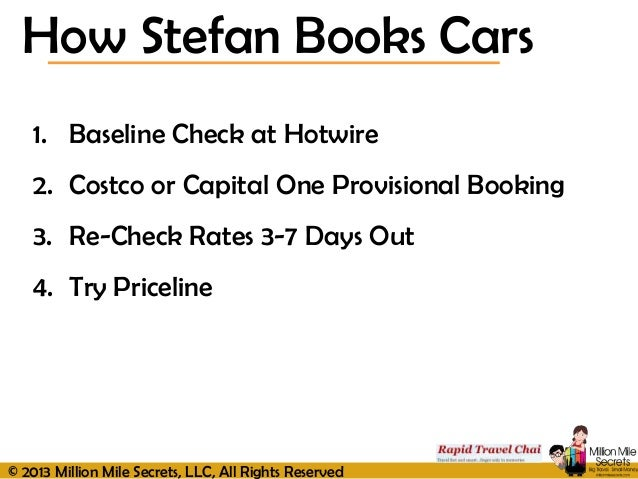 Rental Cars Hotwire Vs Priceline