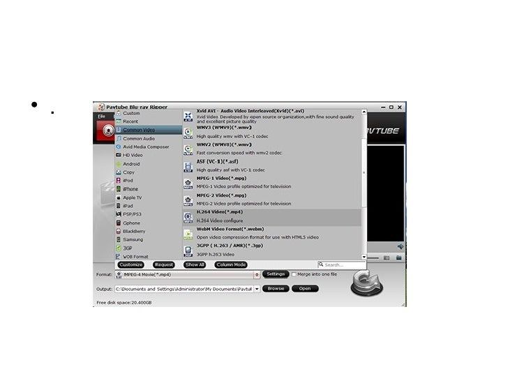 How to bring dvd to blackberry bold 9700