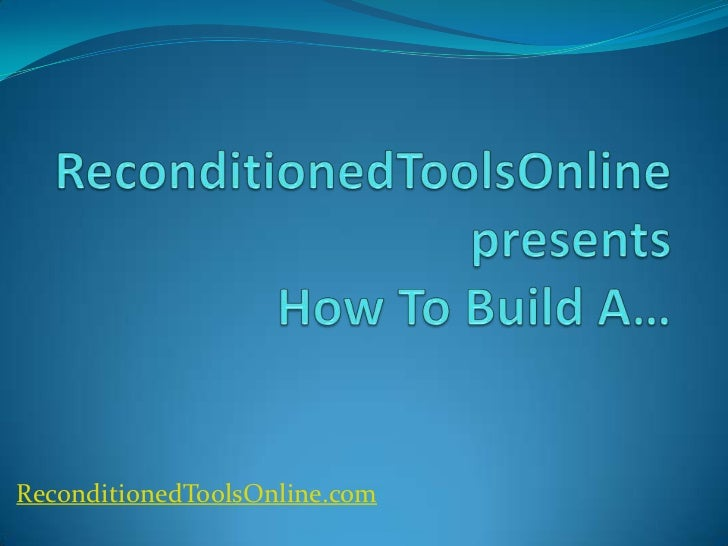 ReconditionedToolsOnline.com