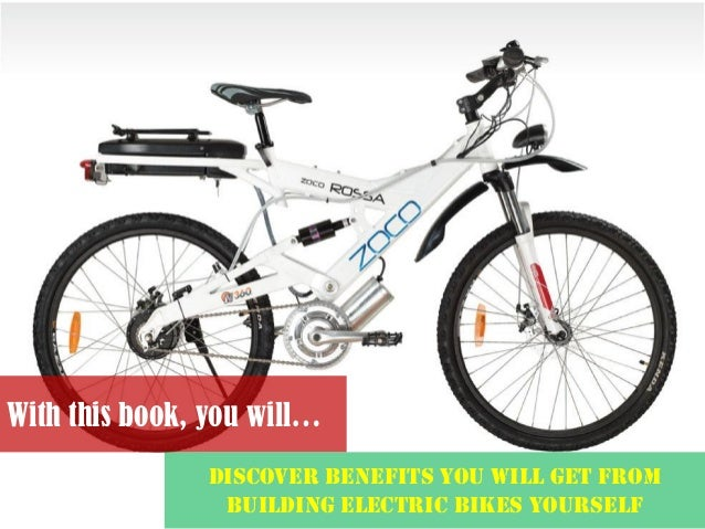 How to build a 50mph electric bike pdf shows detailed plans for build never wait in traffic again solutioingenieria Image collections
