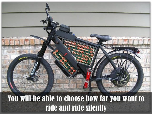 How To Build A 50mph Electric Bike Pdf Shows Detailed Plans