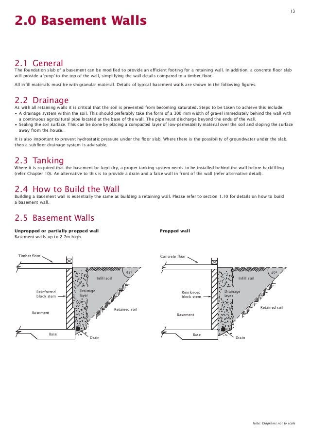 how to build a besser block retaining wall pdf