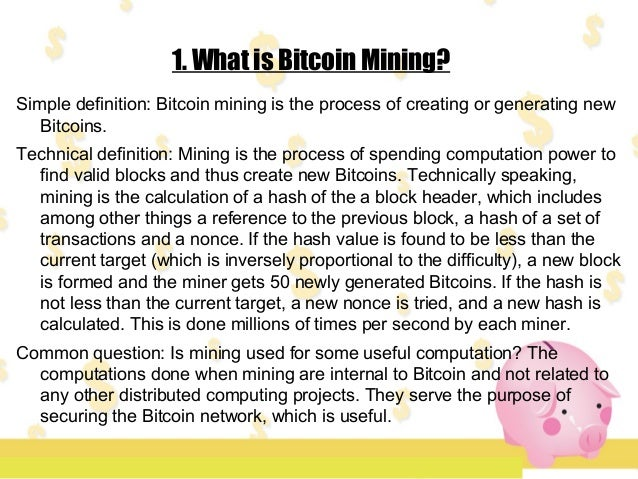 2.How much money do I have to invest? a. How much money do I actually have available to invest in Bitcoin mining? Well, it...